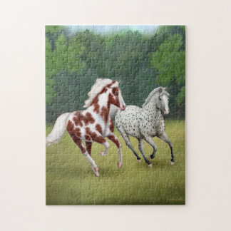 Galloping Wild Horses Puzzle