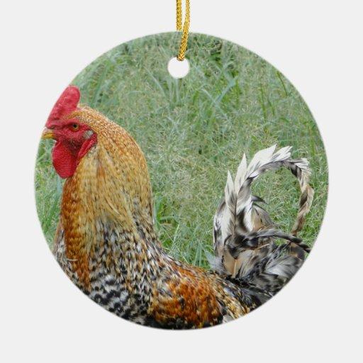 Gallos Adorno De Navidad