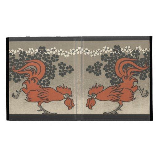 Gallos de Nouveau del arte