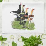 Gallos modernos del juego toallas de cocina
