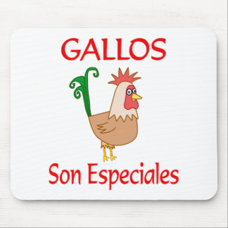 Gallos Son Especiales Mouse Pads
