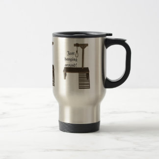 gallow and quotes travel mug