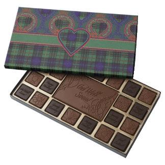 Galloway clan Plaid Scottish kilt tartan Assorted Chocolates