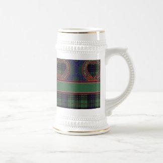 Galloway clan Plaid Scottish kilt tartan Beer Stein
