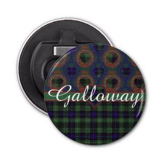 Galloway clan Plaid Scottish kilt tartan Bottle Opener