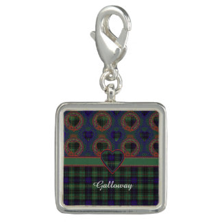 Galloway clan Plaid Scottish kilt tartan Charms