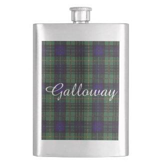 Galloway clan Plaid Scottish kilt tartan Hip Flask