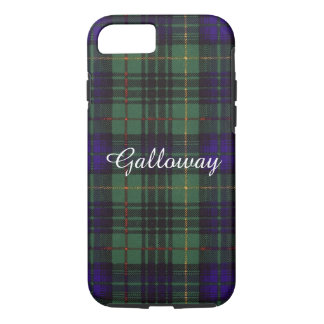 Galloway clan Plaid Scottish kilt tartan iPhone 7 Case
