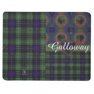 Galloway clan Plaid Scottish kilt tartan Journal