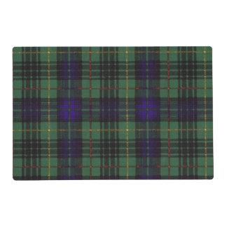 Galloway clan Plaid Scottish kilt tartan Placemat