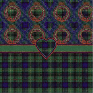 Galloway clan Plaid Scottish kilt tartan Statuette