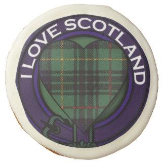 Galloway clan Plaid Scottish kilt tartan Sugar Cookie
