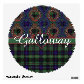 Galloway clan Plaid Scottish kilt tartan Wall Decal