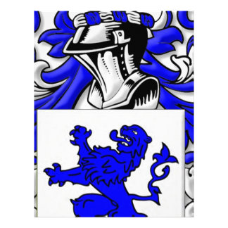 Galloway Coat of Arms Letterhead