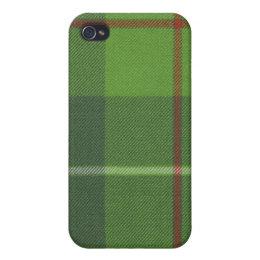 Galloway Hunting Ancient Tartan Plaid iPhone4 Case