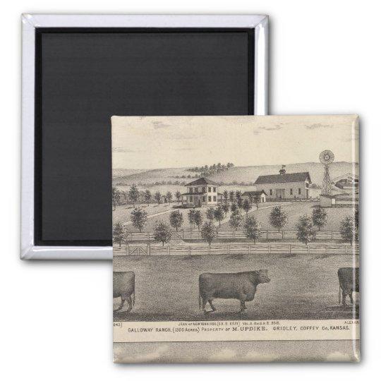 Galloway Ranch, Kansas Magnet