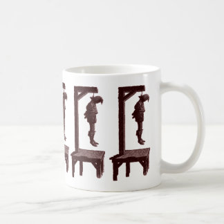 Gallows Silhouette Coffee Mug