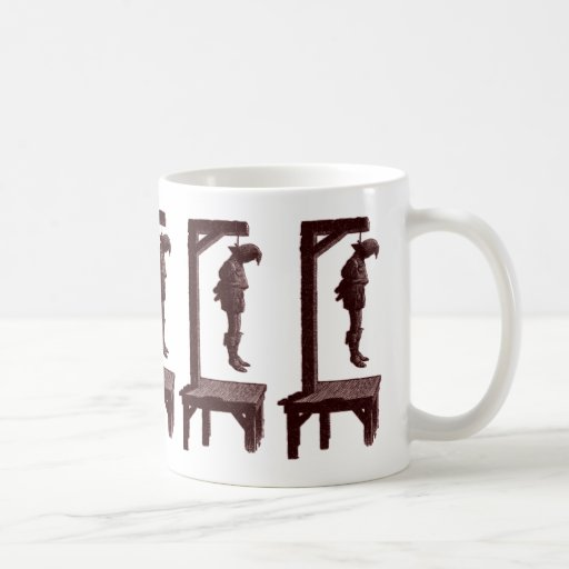 Gallows Silhouette Coffee Mug | Zazzle