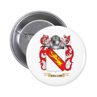 Gallup Coat of Arms Pinback Buttons