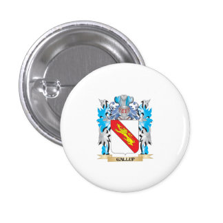 Gallup Coat of Arms - Family Crest Pins