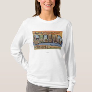 Gallup, New Mexico - Large Letter Scenes 2 T-Shirt