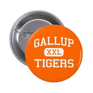 Gallup - Tigers - Junior - Gallup New Mexico Pinback Buttons