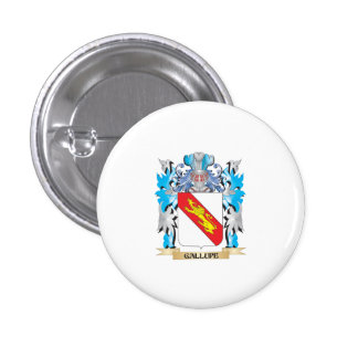 Gallupe Coat of Arms - Family Crest Pin