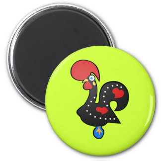 Galo De Barcelos 2 Inch Round Magnet