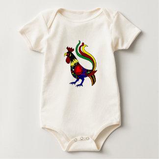 Galo de Barcelos - Camisas e presentes Baby Bodysuit