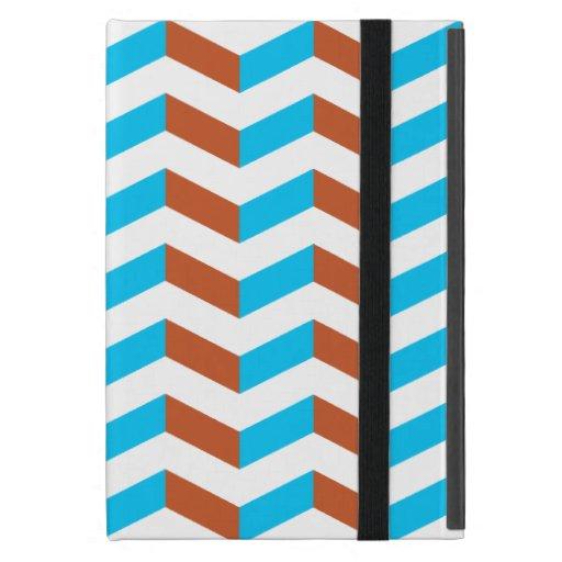 galón azul y rojo de 3D iPad Mini Funda