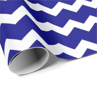 Galón de los azules marinos papel de regalo