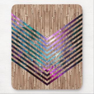Galón de madera de la nebulosa alfombrilla de ratones
