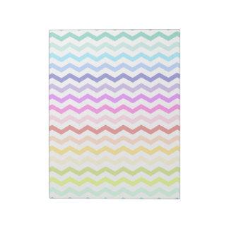 Galón del arco iris libreta para notas