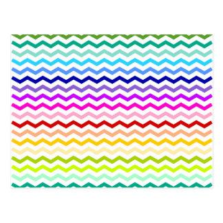 Galón del arco iris tarjeta postal