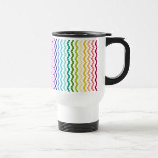Galón del arco iris tazas