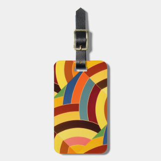 galón elegante contemporáneo elegante etiqueta de maleta