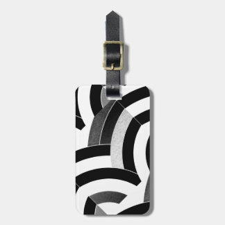 galón elegante contemporáneo elegante etiqueta para maleta