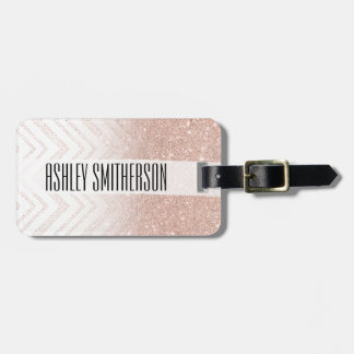 Galón moderno del falso del oro ombre color de etiquetas para maletas