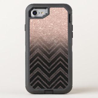 Galón moderno del falso del oro ombre color de funda OtterBox defender para iPhone 7