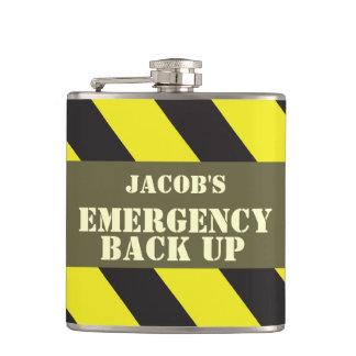 Galón nombrado del respaldo de la emergencia frasc