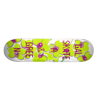 galón, patinador y verde patin personalizado
