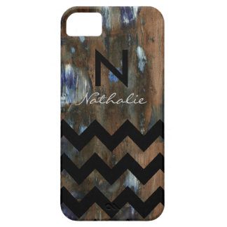 galón personalizado y textura del monograma iPhone 5 Case-Mate cárcasas