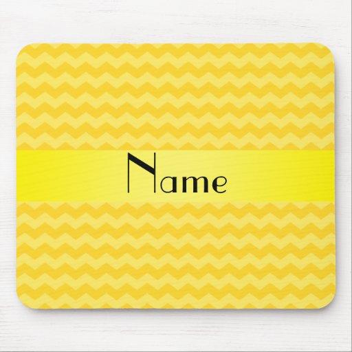 Galones amarillos conocidos personalizados mouse pads