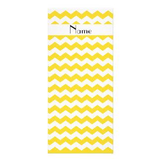 Galones amarillos conocidos personalizados tarjetas publicitarias personalizadas