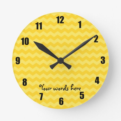 Galones amarillos relojes