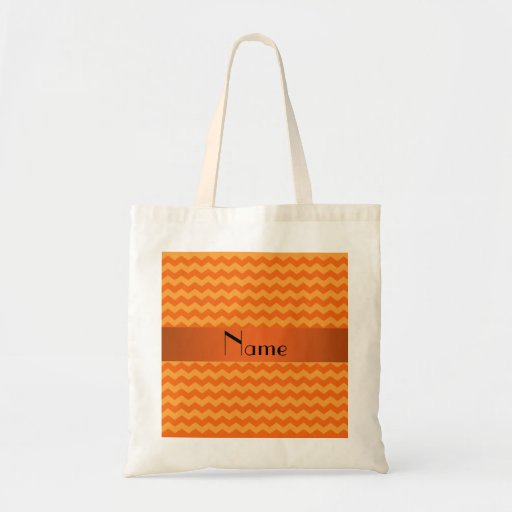 Galones anaranjados conocidos personalizados bolsas