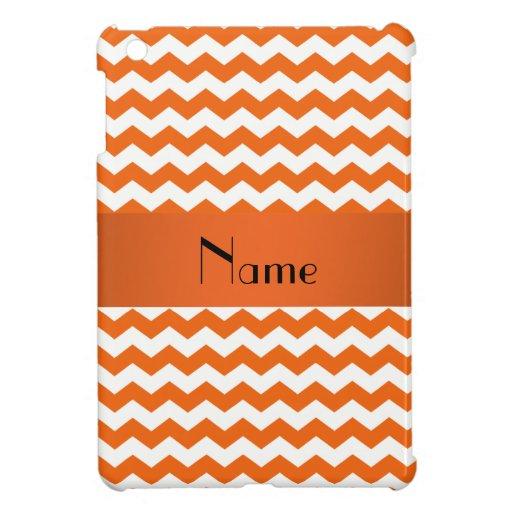 Galones anaranjados conocidos personalizados iPad mini funda