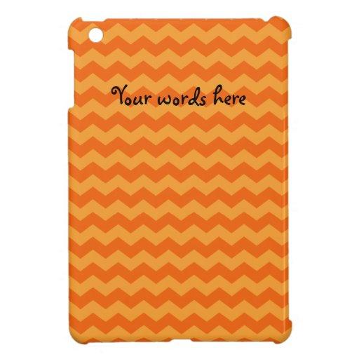 Galones anaranjados iPad mini coberturas