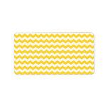 galones blancos amarillos etiquetas de dirección