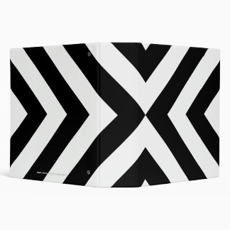 Galones blancos y negros carpeta 5 cm